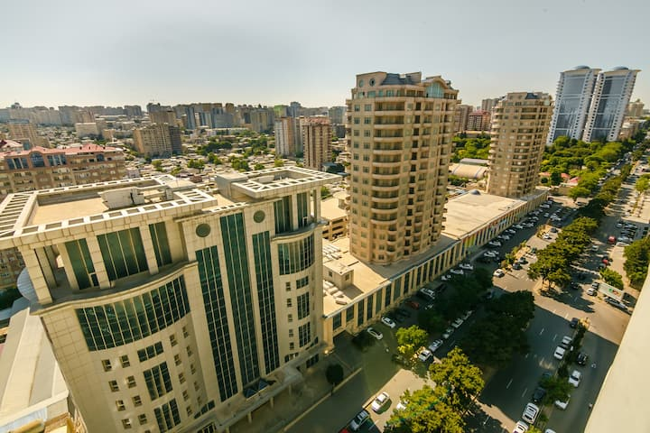 Vip Flat in the center of Baku (AFF Center)