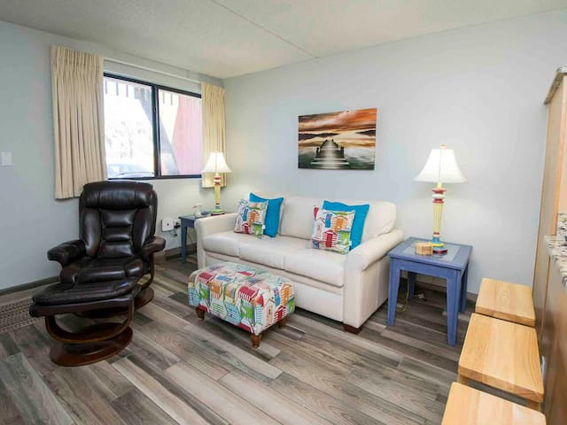 Walk From Your Patio to the Beach! Just Steps Away!