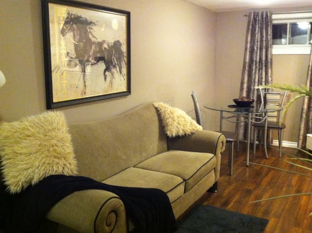 Comfortable and Convenient Basement Suite