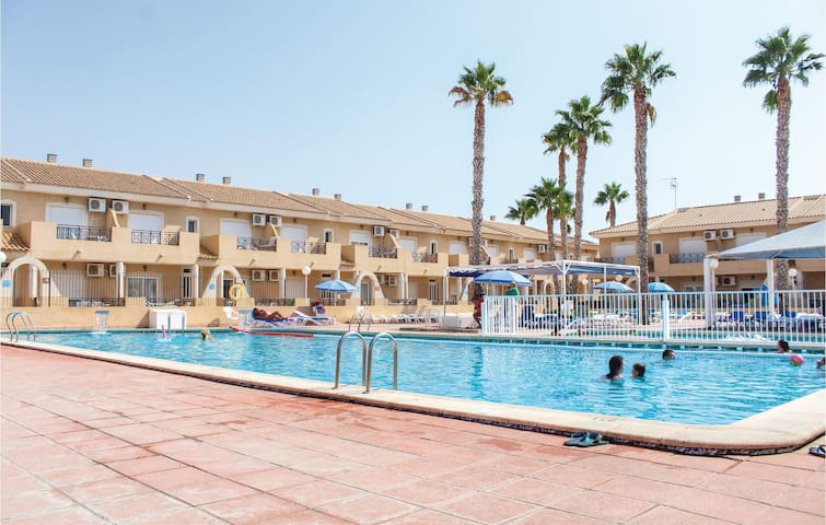 Holiday apartment with 1 bedroom on 36m² in Los Narejos
