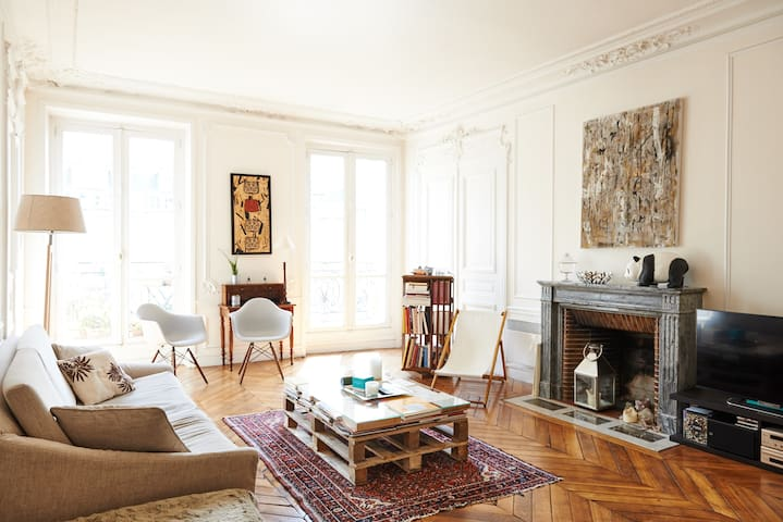Fashion Street apartment in the heart of Paris - París - Pis