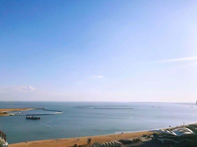 阳关沙滩海景房,距海不到100米,紧邻新澳海底世界,奥体中心、野生动物园,燕山大学小吃街,北戴河