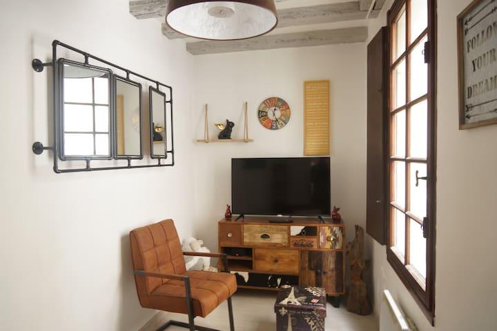 Le salon du 1ère étage