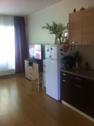 Уютная комната в большой новой квартире RU, EN, ES - Rīga - Flat