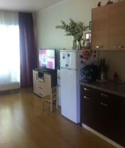 Уютная комната в большой новой квартире - Apartment