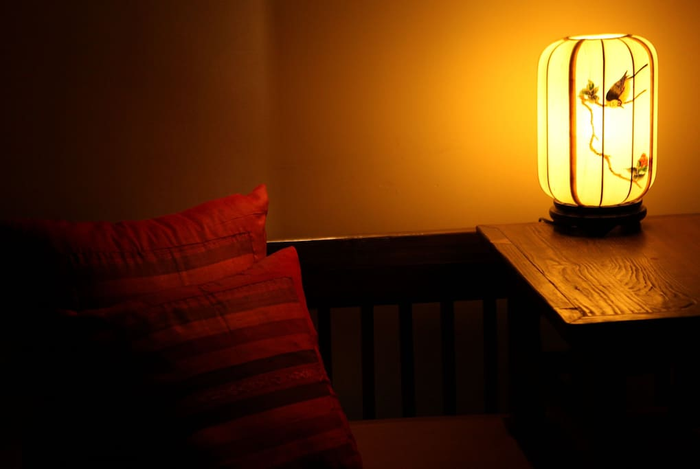every lamp in my home is specially designed.