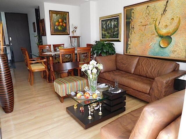 Cozy apartment in Usaquen, Bogotá. Great location