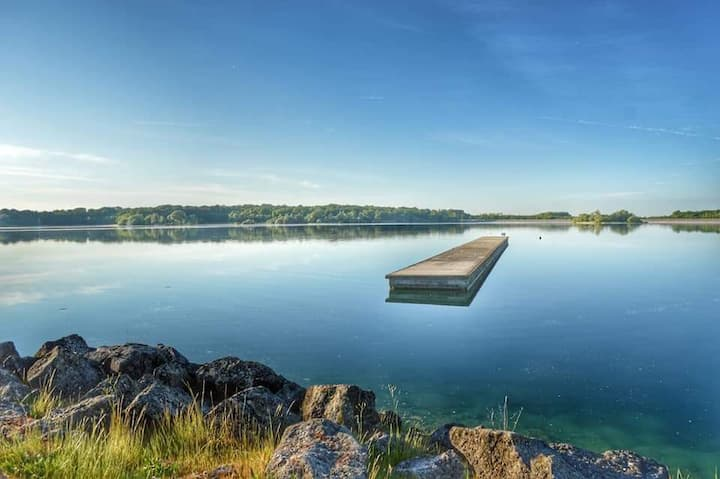 The Lac du Der, the sea in Champagne