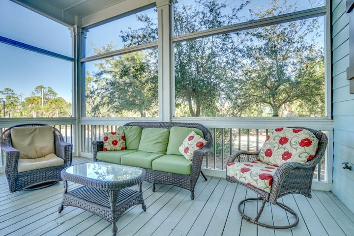 New Listing! Pet-friendly Beach Home in Gated Community with Pool Access & Wifi