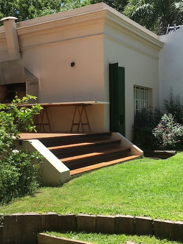 Detached period guesthouse in North Buenos Aires.