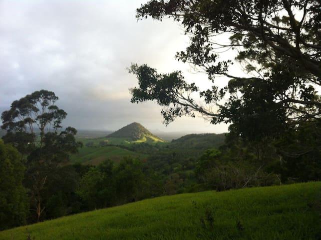 166 acre Rainforest Retreat, Noosa Hinterland