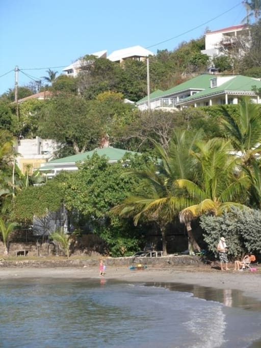 Villa la belle vie your island home villas for rent in for Marigot beach st barts