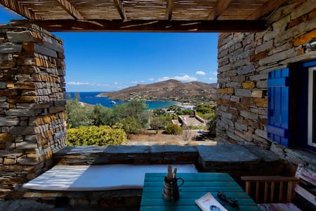 Stone house with a magical view