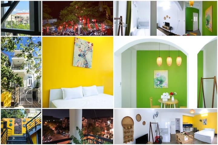 #3- A studio +Extra room in a standard villa 100m2