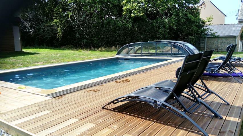 Gîte *** Le Cottage accès piscine