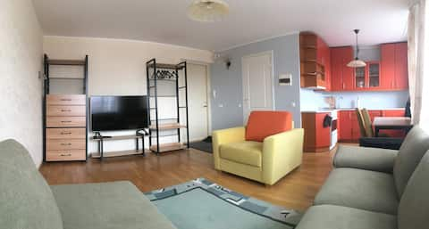 Beautiful studio apartment in Haapsalu