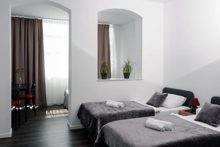 Apartment Einzel- Doppelzimmer | Stadt Mitte |City