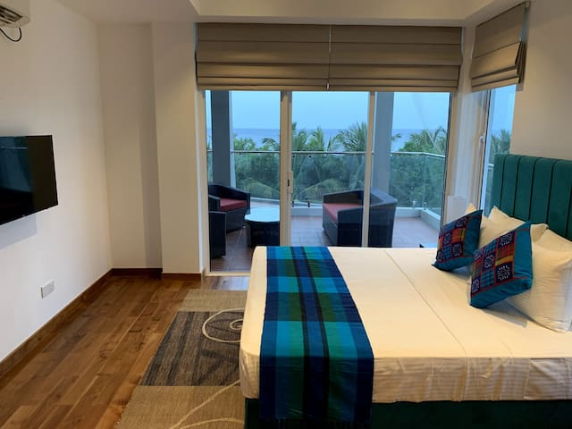 Nilaveli Ocean View Condo with 3 A/C Bedrooms