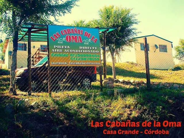 Las Cabañas de la Oma - Córdoba - Casa Grande - Srub