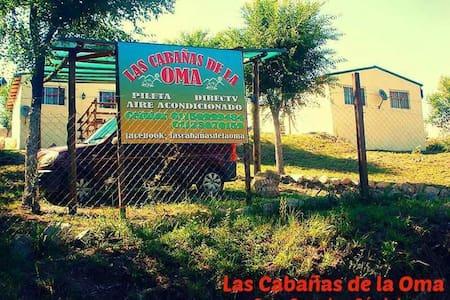 Las Cabañas de la Oma - Córdoba - Casa Grande - กระท่อม
