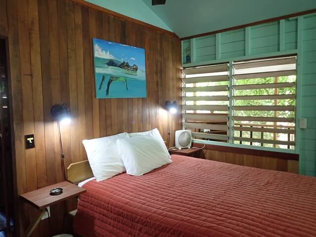 Main bedroom with queen-size bed