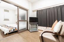 3 Room Ebisu Apt #1★Beside Stn★4~8 Guest★Free WIFI