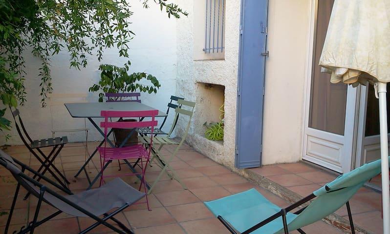 Maison Banyuls avec patio, prox plage et commerces - Banyuls-sur-Mer - Huis