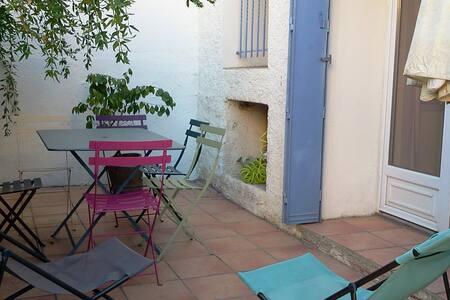 Maison Banyuls avec patio, prox plage et commerces - Banyuls-sur-Mer - House
