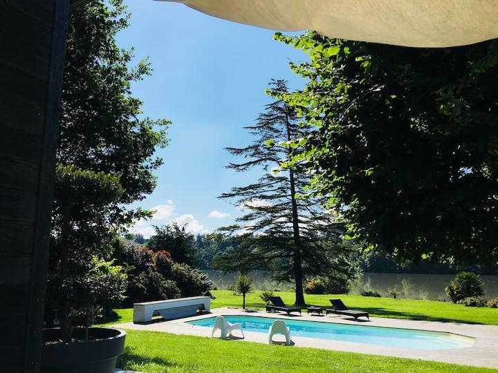 Villa luxueuse entre Toulouse et les Pyrénées
