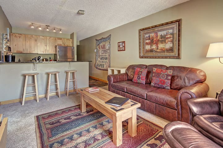Amazing Ski in-out Condo With Mountain Views! FP114