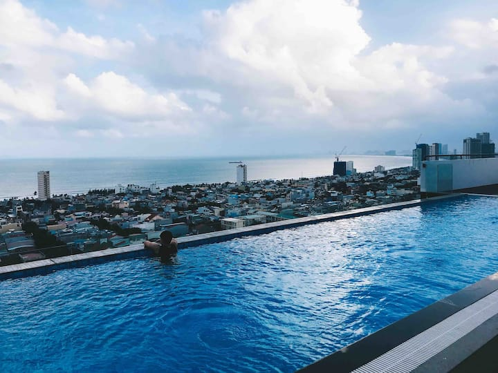 3BR Ocean View Apt with Infinity Pool by ©️Refresh