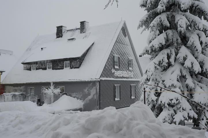 Liftblick Altenberg Ferienwohnung