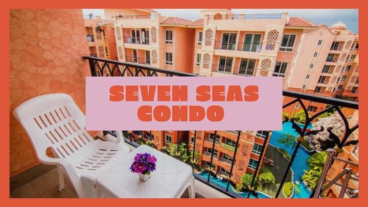 ❀Seven Sea Condo Resort & Water Park Pattaya