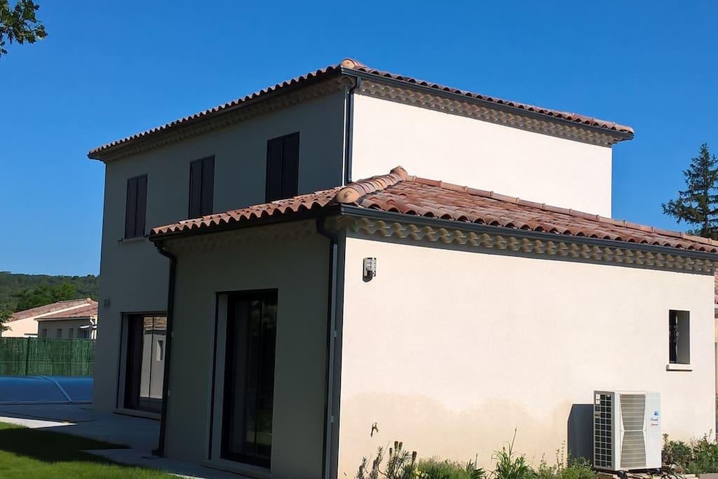vue façade sud