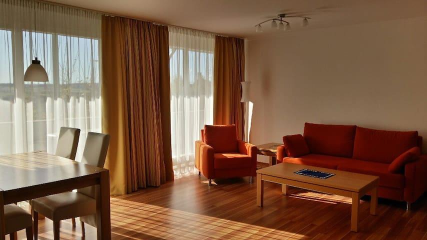 Luxus Ferienwohnung mit Bademantelgang zur Therme