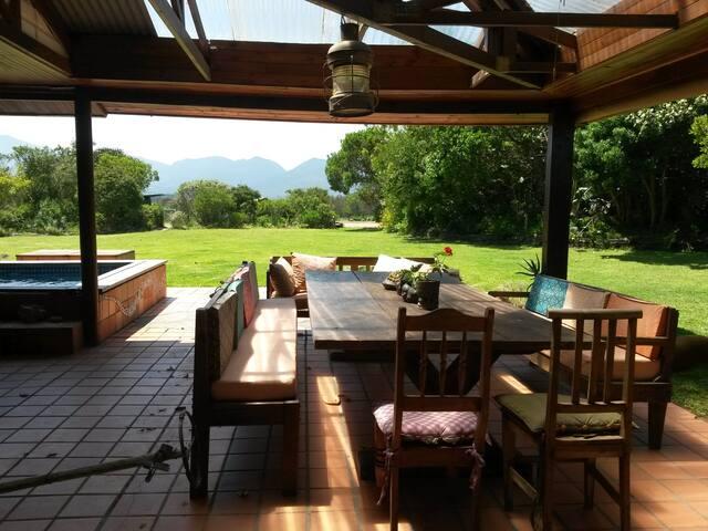 Aloe Corner -  Tranquil setting in Victoria Bay