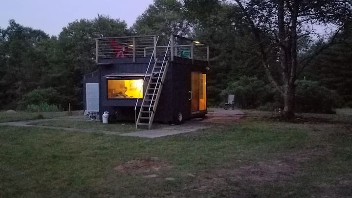 The Catskill Cube Tiny House.