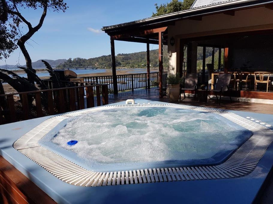 View from the Jacuzzi on the deck