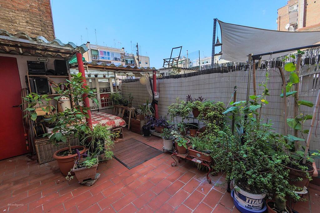 great patio to enjoy