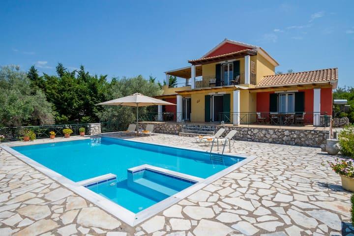 Villa Aphrodite - Private Pool - View To The Sea