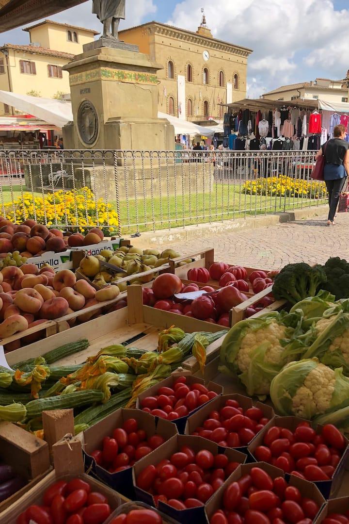 learn about seasonal vegetables