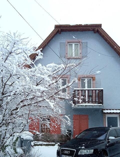 Le Hohwald: house near the forest