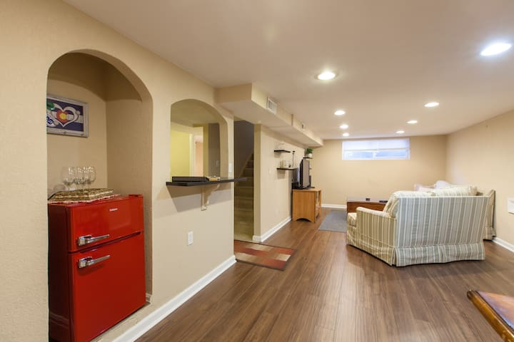 Private Downstairs Apt w/ Separate Entrance
