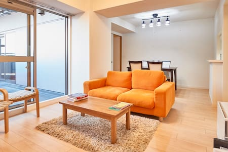 High floor river + Skytree view in Asakusa! 2 bed! - Sumida-ku