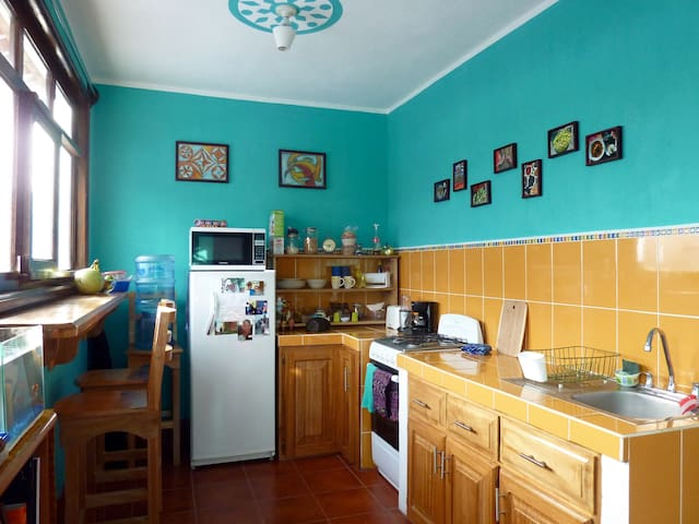 Bright and comfortable apartment in San Pedro La L - San Pedro La Laguna - Byt