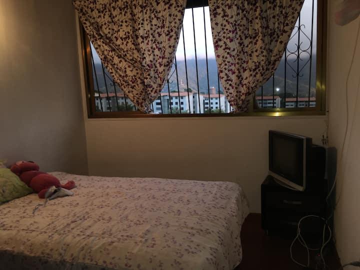 Pequeños dormitorios en residencia