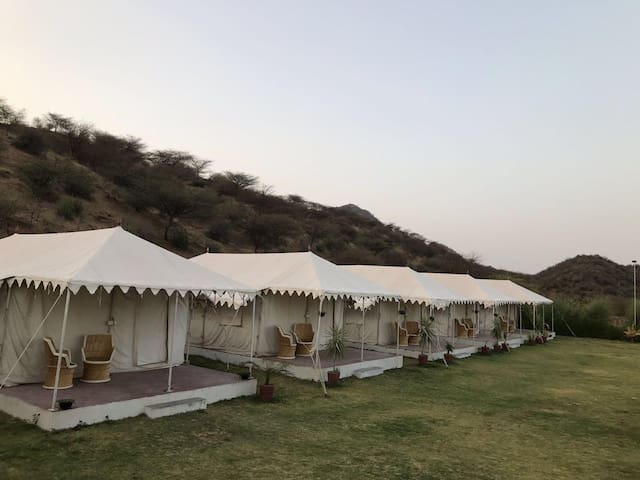 Camping at Pushkar