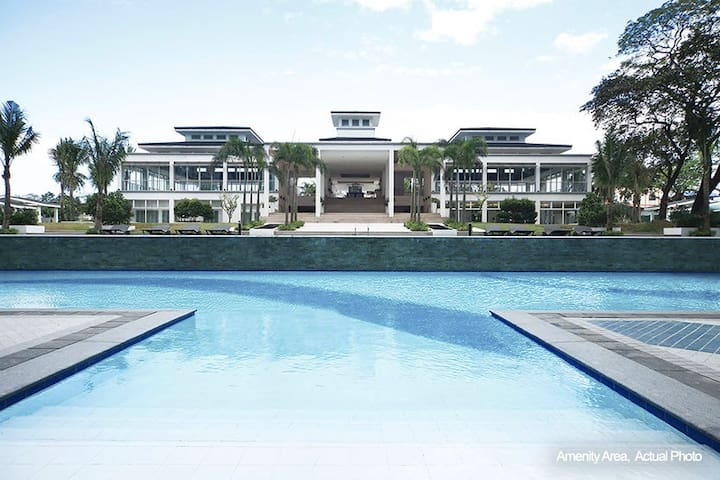 1 BR, Fully Furnished condo with great amenities - Ciutat Quezon - Pis