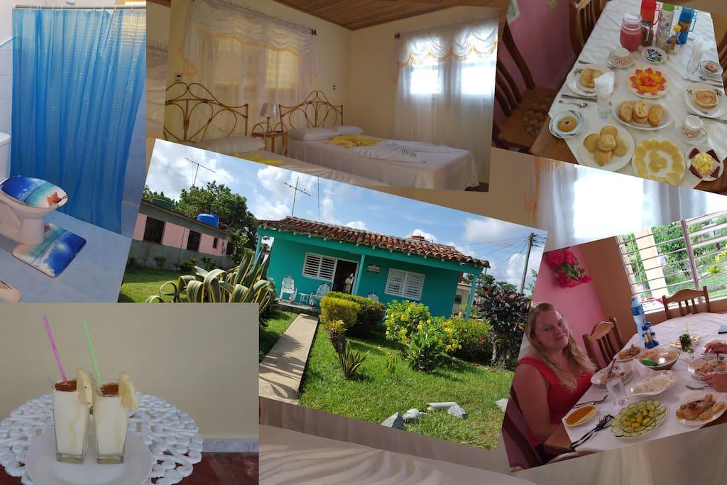 Esto es una panoramica de casa Sergio y Caridad