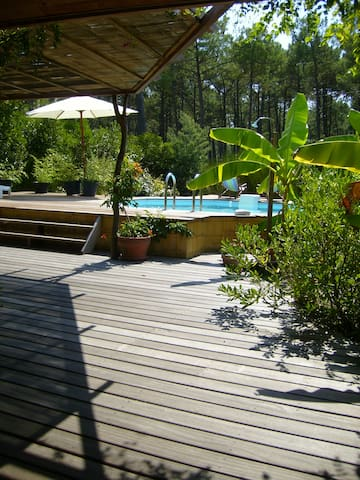 """La Villa Asia"",   very close to the beach!.. - Vendays-Montalivet - Villa"